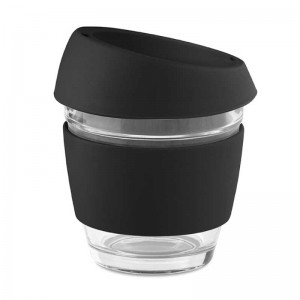 NM20 Reusable Glass Coffee Cup 8oz